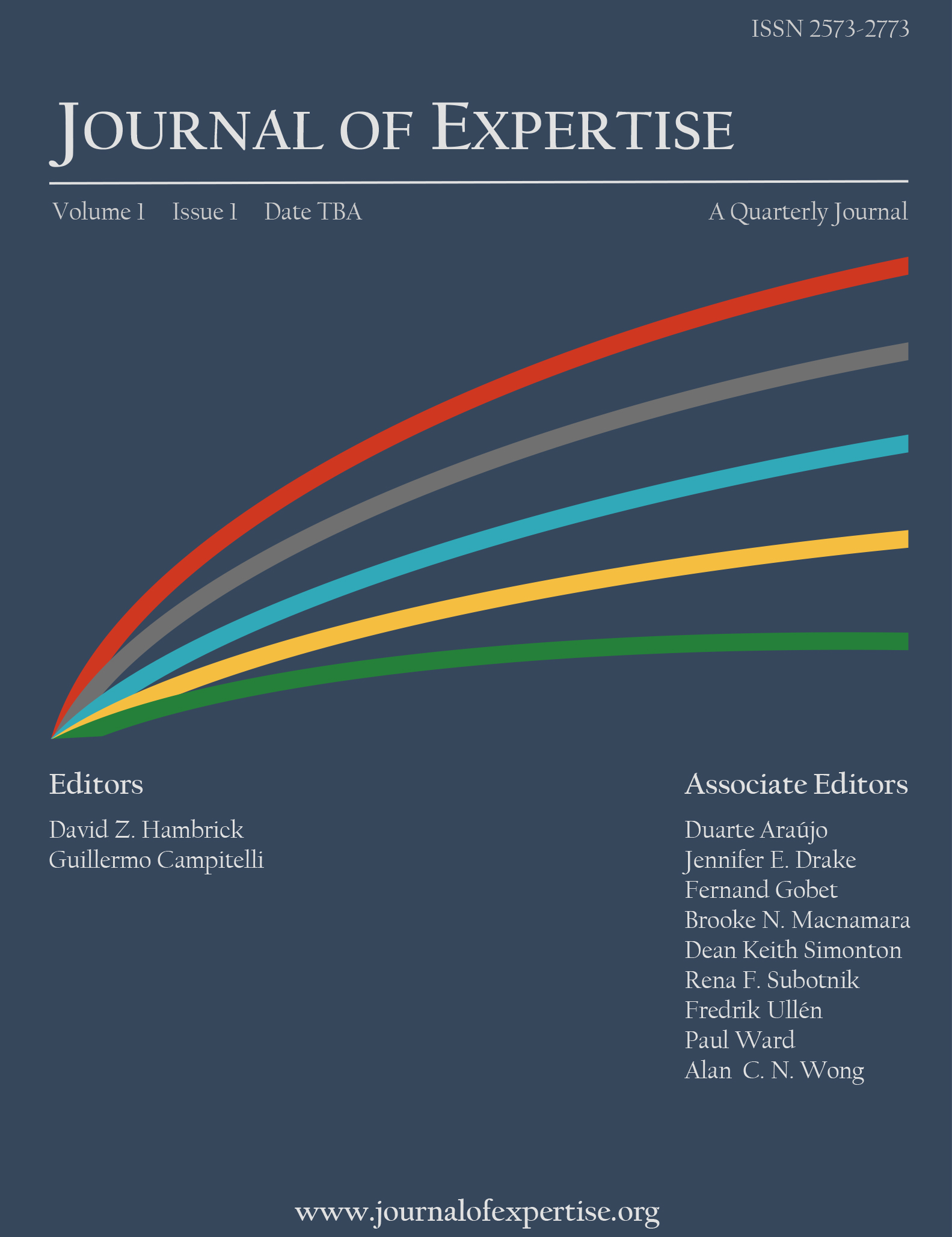 Journal of Expertise Main Cover
